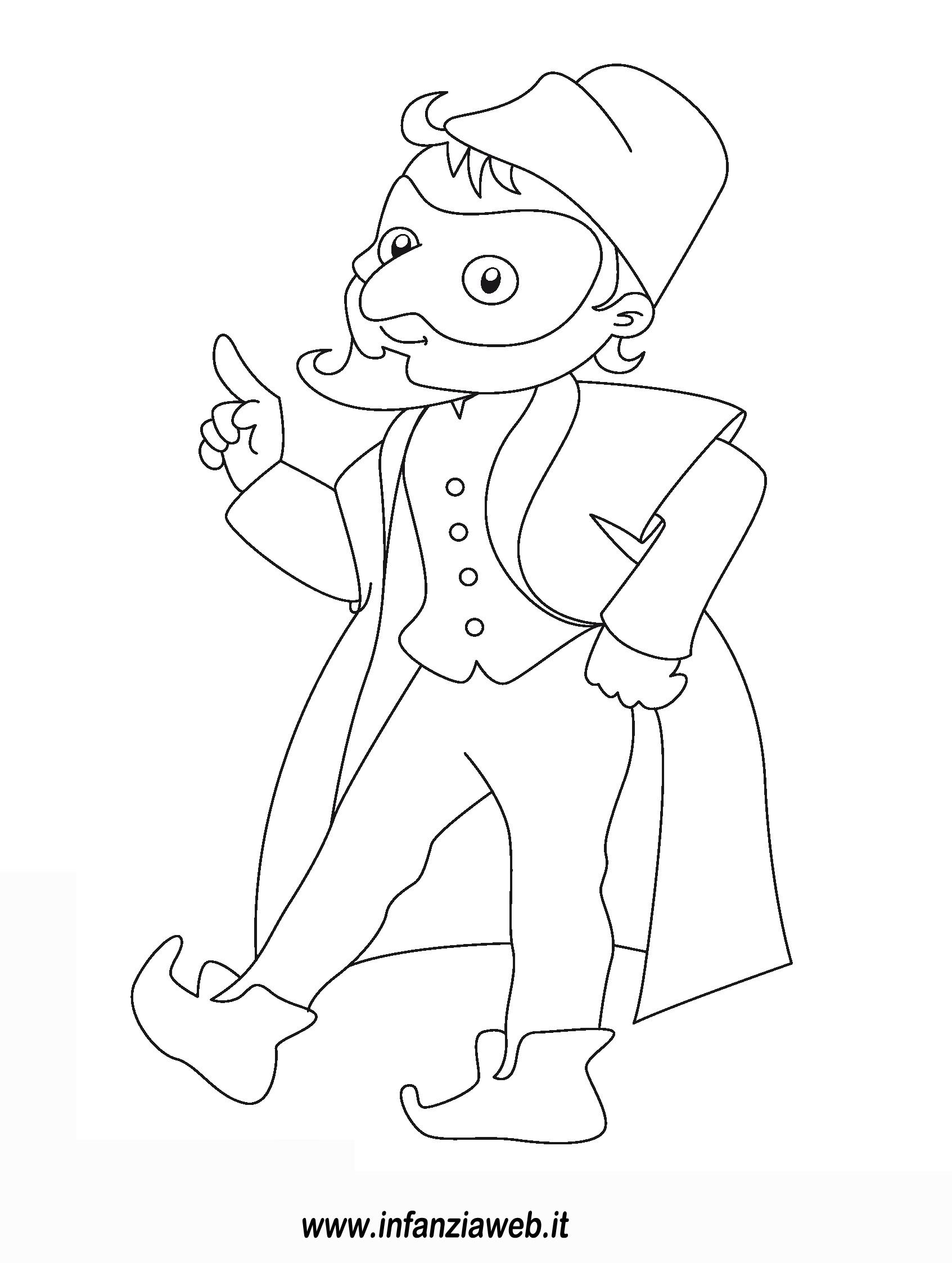 Pantalone Da Colorare.Disegni Da Colorare Categoria Carnevale Immagine Carnevale5
