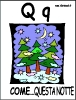alfabeto di natale