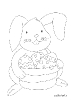 coniglietto con uova